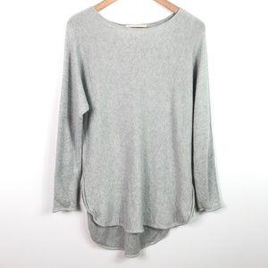 Michael Kors Oversized Sweater Tunic Size S Gray